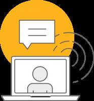 Logo Webinar Online Event