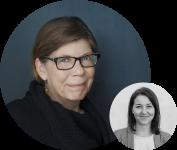 Portraitbilder von Sabine Pallaske und Ellen Riesterer